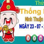 Thống kê XSNT ngày 23/7/2021 đài Ninh Thuận thứ 6 hôm nay chính xác nhất