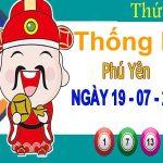 Thống kê XSPY ngày 19/7/2021 – Thống kê xổ số Phú Yên thứ 2