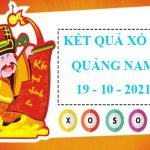 Thống kê SX Quảng Nam 19/10/2021 – Soi cầu lô thứ 3