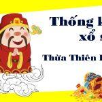 Thống kê XSTTH 11/10/2021, thống kê xổ số Thừa Thiên Huế